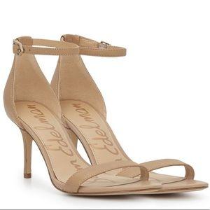 Sam Edelman Patti Classic Nude Leather Heels